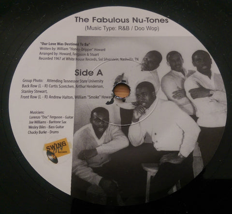 FABULOUS NU-TONES - OUR LOVE WAS DESTINED TO BE (SWING CITY) Mint Condition