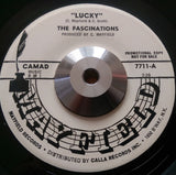 FASCINATIONS - LUCKY (RARE INSTRUMENTAL) (MAYFIELD w/d) Ex Condition