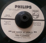 FLAMINGOS - SHE SHOOK MY WORLD (PHILIPS W/Demo) Ex Condition