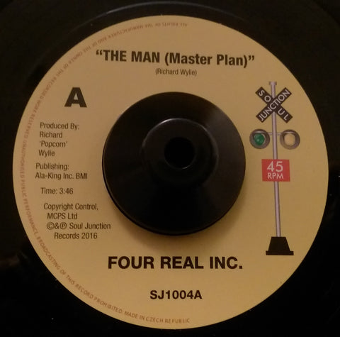 FOUR REAL INC - THE MAN (MASTER PLAN) (SOUL JUNCTION) Mint Condition