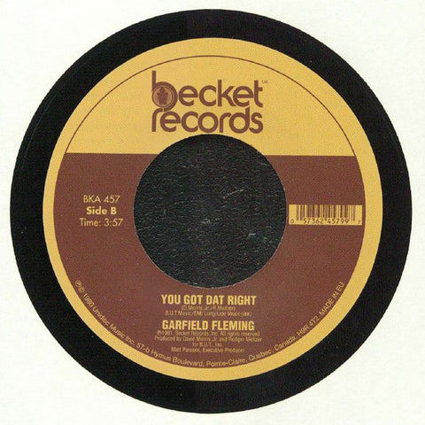 GARFIELD FLEMING - DON'T SEND ME AWAY (BECKET RE) Mint Condition