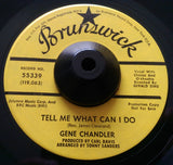 GENE CHANDLER - THERE GOES THE LOVER (BRUNSWICK Demo) Vg+ Condition