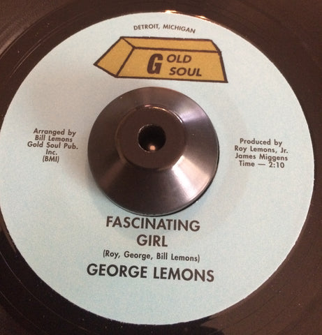 GEORGE LEMONS - FASCINATING GIRL (GOLD SOUL) Mint Condition