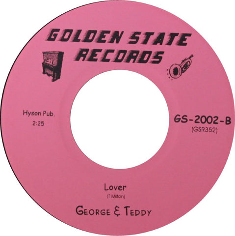 GEORGE & TEDDY - LOVER (GOLDEN STATE) Mint Condition