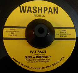 GINO WASHINGTON - RAT RACE (WASHPAN) Ex Condition