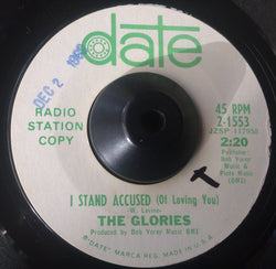 THE GLORIES - I STAND ACCUSED OF LOVING YOU (DATE DEMO) Ex Condition