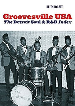 GROOVESVILLE USA - THE DETROIT SOUL & R&B INDEX (STUART RUSSELL) Like New Condition