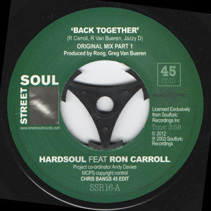 HARD SOUL Featuring RON CARROLL - BACK TOGETHER (STREET SOUL) Mint Condition