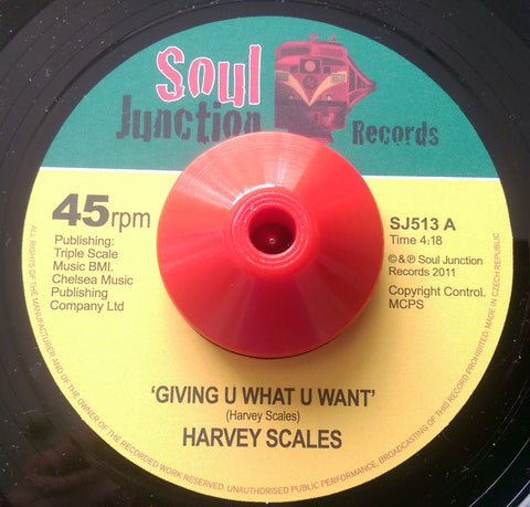 HARVEY SCALES - GIVING U WHAT U WANT (SOUL JUNCTION) Mint Condition