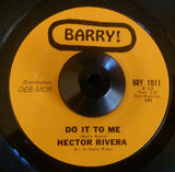 HECTOR RIVERA - AT THE PARTY (BARRY) Ex Condition