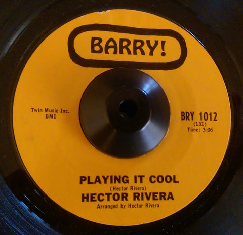 HECTOR RIVERA - PLAYING IT COOL (BARRY) Ex Condition