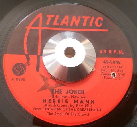 HERBIE MANN - THE JOKER (ATLANTIC) Vg+ Condition
