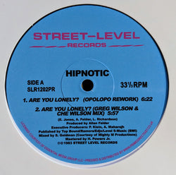 HIPNOTIC - LONELY RHYTHM (STREET LEVEL) Mint Condition