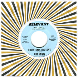 HOT SNOW - FOUR TIMES THE LOVE (NUMERO) Mint Condition