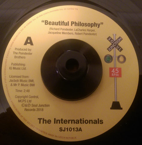 THE INTERNATIONALS - BEAUTIFUL PHILOSOPHY (SOUL JUNCTION) Mint Condition