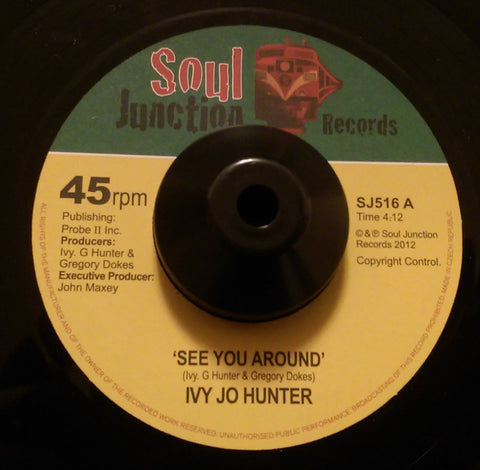 IVY JOE HUNTER - SEE YOU AROUND (SOUL JUNCTION) Mint Condition