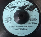 JACKIE MONTRE-EL - LOVE ME OR LEAVE ME ALONE (SUCCESS EXPRESS) Ex Condition