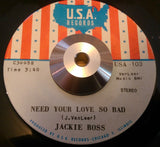 JACKIE ROSS - MAN IS BORN (USA) Ex Condition