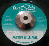 JACQUI WILLIAMS - FAVOUR (REAL SIDE) Mint Condition
