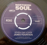 JAMES FOUNTAIN b/w MONTCLAIRS (HARMLESS) Mint Condition