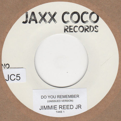 JIMMIE REED Jr. - DO YOU REMEMBER (JAXX COCO) Mint Condition