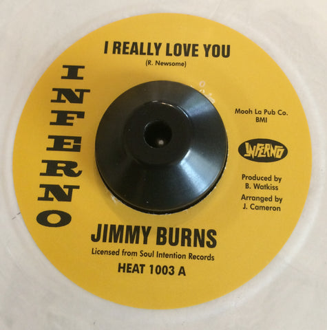 JIMMY BURNS - I REALLY LOVE YOU (INFERNO) Mint Condition