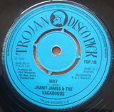 JIMMY JAMES - HELP YOURSELF (TROJAN DISCO PICK) Vg+ Condition