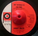 JIMMY MACK - MY WORLD IS ON FIRE (PALMER) Ex Condition