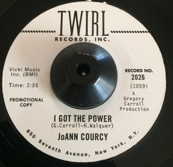 JOANNE COURCY - I GOT THE POWER (TWIRL) Mint Condition