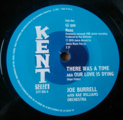JOE BURRELL - THERE WAS A TIME (KENT CITY) Mint Condition