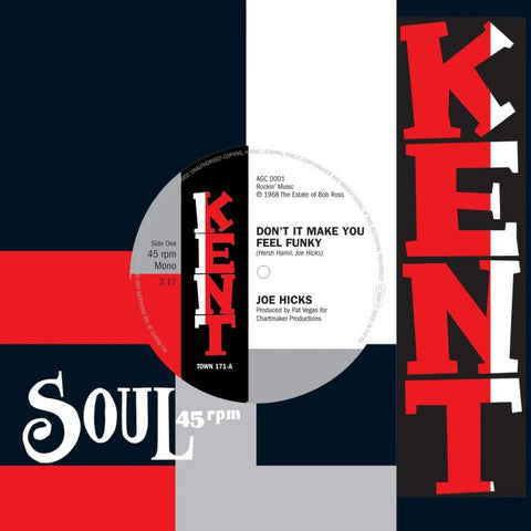 JOE HICKS - DON'T IT MAKE YOU FEEL FUNKY (KENT TOWN) Mint Condition