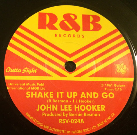 JOHN LEE HOOKER - SHAKE IT UP AND GO (OUTTA SIGHT) Mint Condition