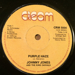 JOHNNY JONES & KING CASUALS - PURPLE HAZE (CREAM) Ex Condition