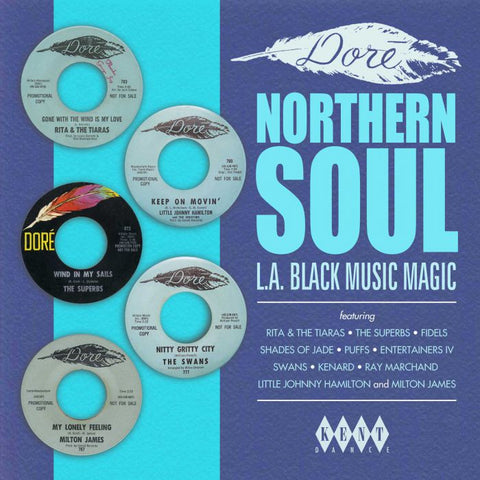 VARIOUS ARTISTS - DORE NORTHERN SOUL (KENT) Mint Condition