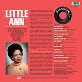 LITTLE ANN - DETROIT'S SECRET SOUL (KENT LP) Mint Condition