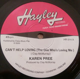 KAREN PREE - CAN'T HELP LOVING (HAYLEY) Mint Condition