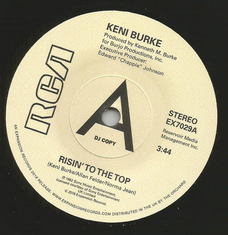 KENI BURKE - RISIN' TO THE TOP (EXPANSION DEMO) Mint Condition