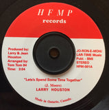 LARRY HOUSTON - LETS SPEND SOMETIME TOGETHER (HFMP RE) Mint Condition
