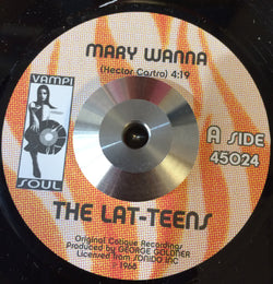 THE LAT-TEENS - MARY WANNA / SMOKE SHOP (VAMISOUL] Mint Condition