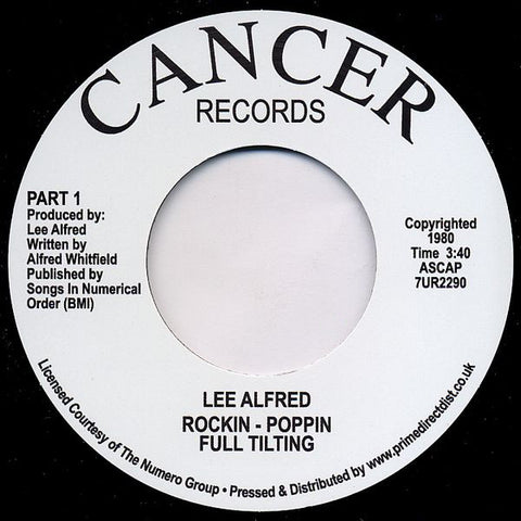 LEE ALFRED - ROCKIN POPPIN FULL TILTING (CANCER) Mint Condition