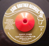 LINDA JONES - I JUST CAN'T LIVE MY LIFE (SOUL BROTHER) Mint Condition