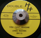 LINDA MASTERS - YOU CAN'T IMAGINE (DOUBLE HH) Ex Condition
