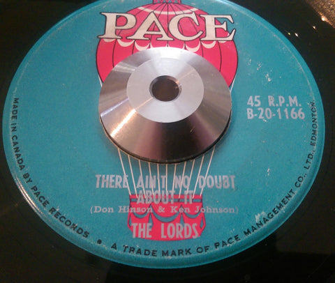 THE LORDS - THERE'S NO DOUBT ABOUT IT (PACE) Ex Condition