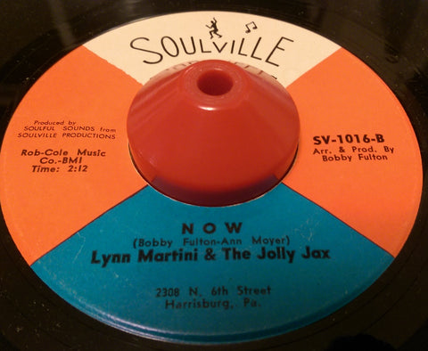 LYNN MARTINI & THE JOLLY JAX - NOW (SOULVILLE) Ex Condition