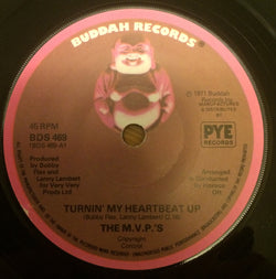 THE M.V.P's - TURNING MY HEARTBEAT UP (BUDDAH) Ex Condition