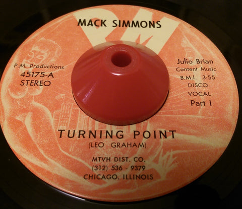 MACK SIMMONS - TURNING POINT (PM RECORDS) Ex Condition