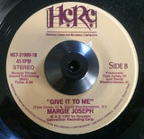 MARGIE JOSEPH - GIVE IT TO ME (HOUSTON CONNECTION) Ex Condition
