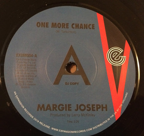 MARGIE JOSEPH - ONE MORE CHANCE (EXPANSION DEMO No.63/100) Mint Condition