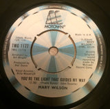 MARY WILSON - YOU'RE THE LIGHT THAT GUIDES MY WAY (MOTOWN) Ex Condition