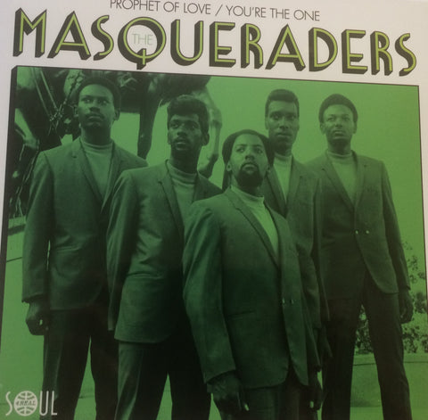 MASQUERADERS - PROPHET OF LOVE (SOUL 4 REAL) Mint Condition